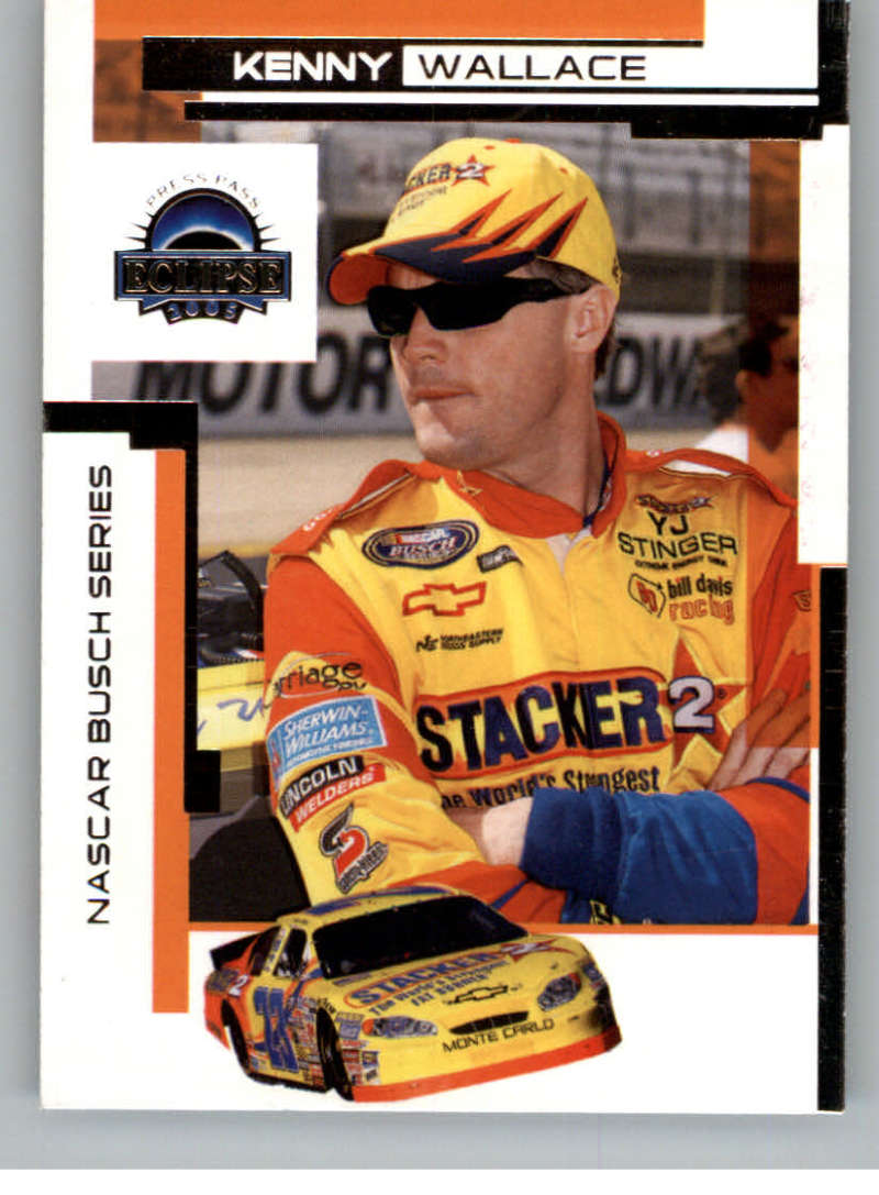 2005 Press Pass Eclipse Beckett Samples #42 Kenny Wallace NM-MT /5