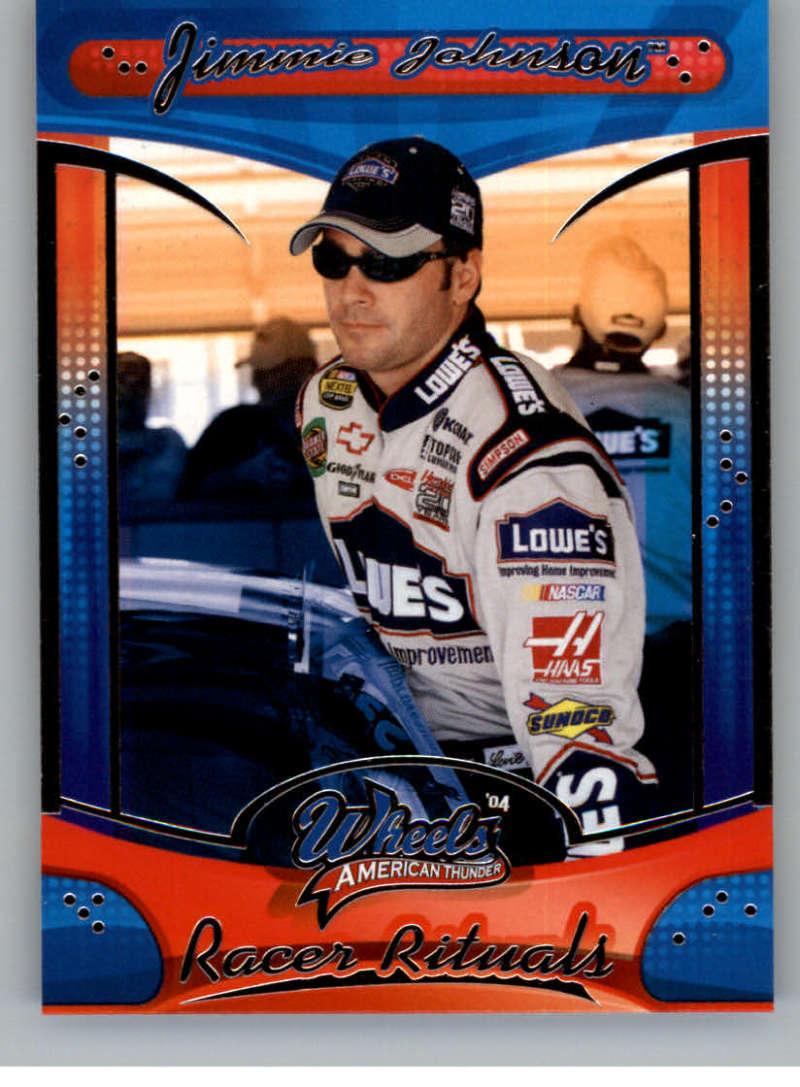 2004 Wheels American Thunder #72 Jimmie Johnson RR NM-MT