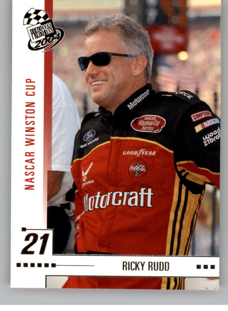 2004 Press Pass #27 Ricky Rudd NM-MT