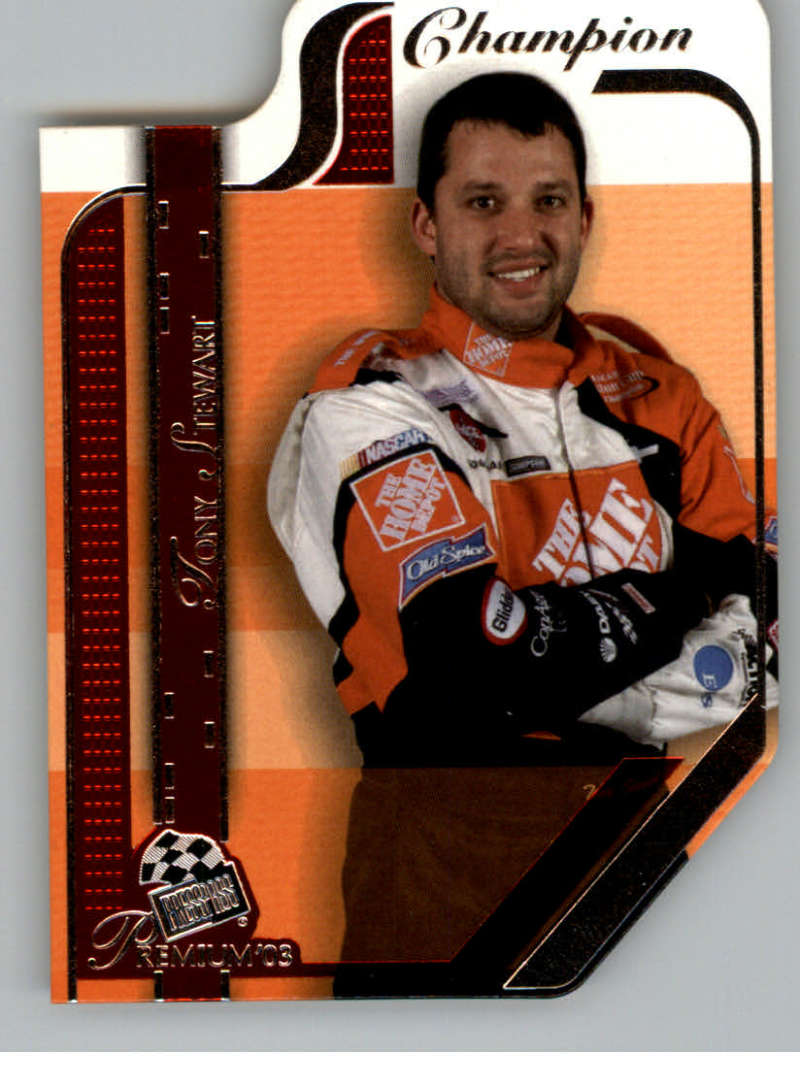 2003 Press Pass Premium Red Reflectors #P56 Tony Stewart NM-MT