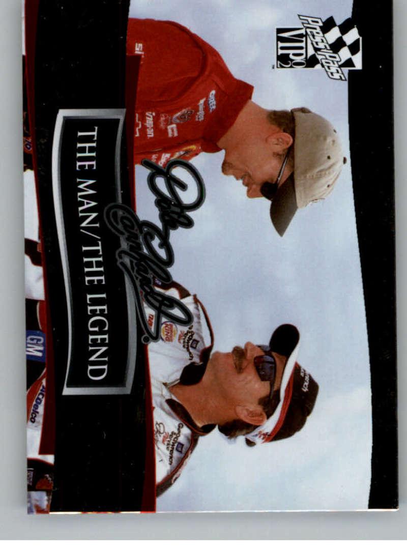 2002 Press Pass VIP The Man / The Legend #DE70 Dale Earnhardt NM-MT