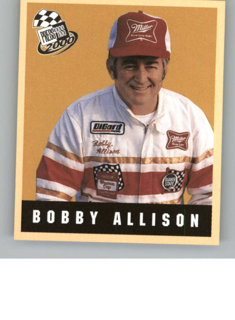 2000 Press Pass Techno-Retro #TR28 Bobby Allison NM-MT