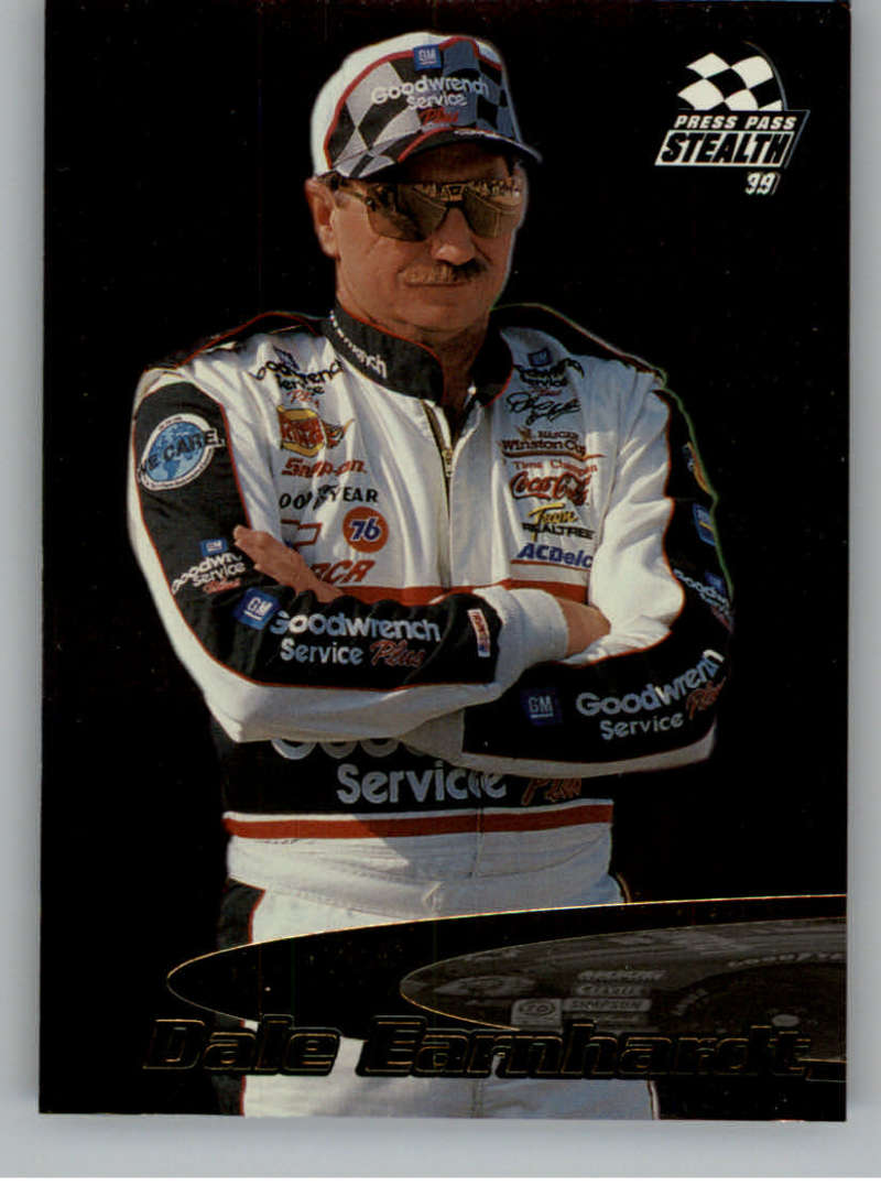 1999 Press Pass Stealth Fusion #F7 Dale Earnhardt NM-MT
