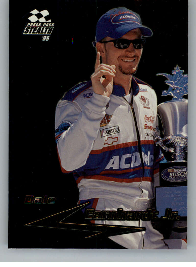 1999 Press Pass Stealth Fusion #F39 Dale Earnhardt Jr. NM-MT