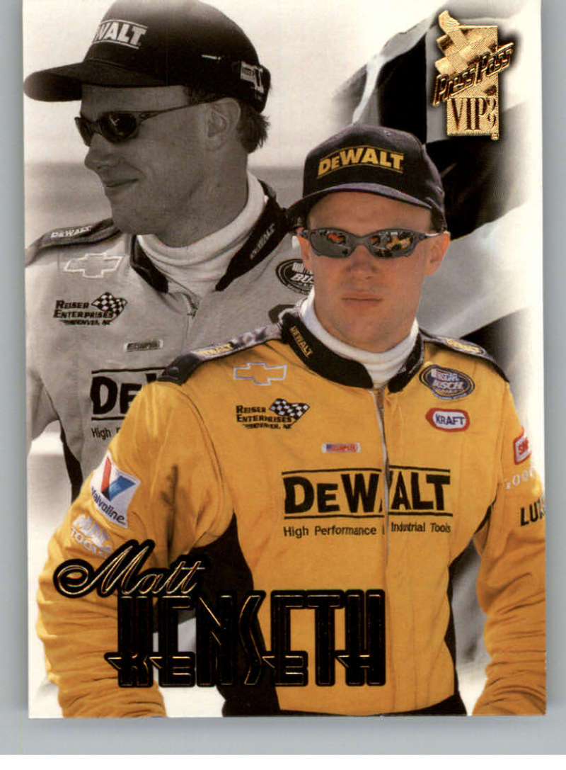 1999 Press Pass VIP #33 Matt Kenseth NM-MT RC Rookie