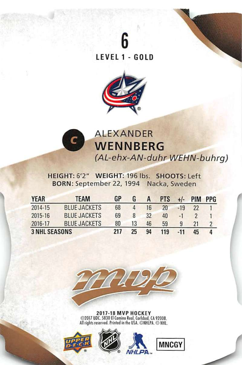 2017-18-Upper-Deck-MVP-Colors-and-Contours-Hockey-Cards-Pick-From-List thumbnail 5
