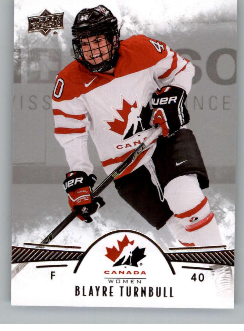 2016-17 Upper Deck Team Canada Juniors Hockey #15 Blayre Turnbull