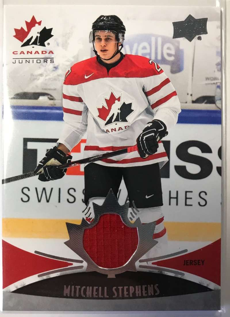 2016-17 Upper Deck Team Canada Juniors Hockey #117 Mitchell Stephens MEM