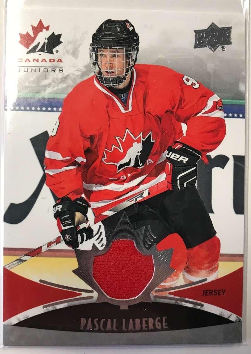 2016-17 Upper Deck Team Canada Juniors Hockey #129 Pascal Laberge MEM