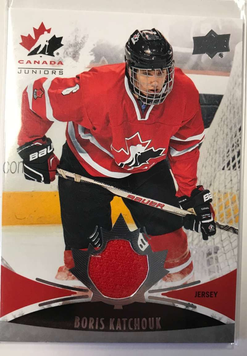 2016-17 Upper Deck Team Canada Juniors Hockey #136 Boris Katchouk MEM