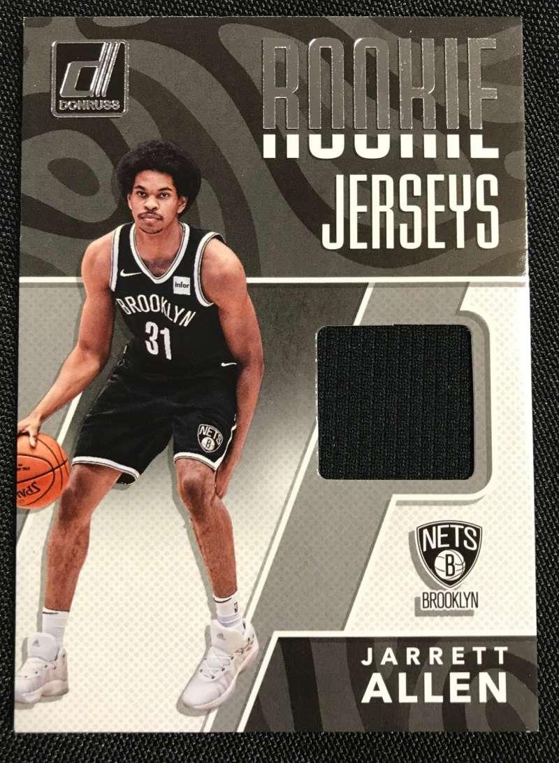 2017-18 Donruss Rookie Jerseys #13 Jarrett Allen MEM Nets