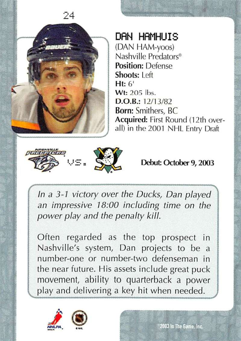 2003-04-In-The-Game-VIP-Rookie-Debut-Hockey-Cards-Pick-From-List thumbnail 47