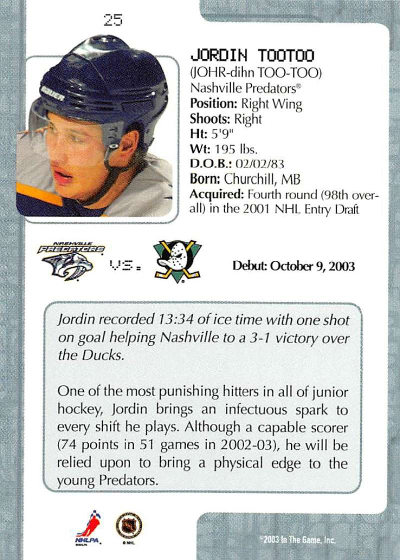 2003-04-In-The-Game-VIP-Rookie-Debut-Hockey-Cards-Pick-From-List thumbnail 49