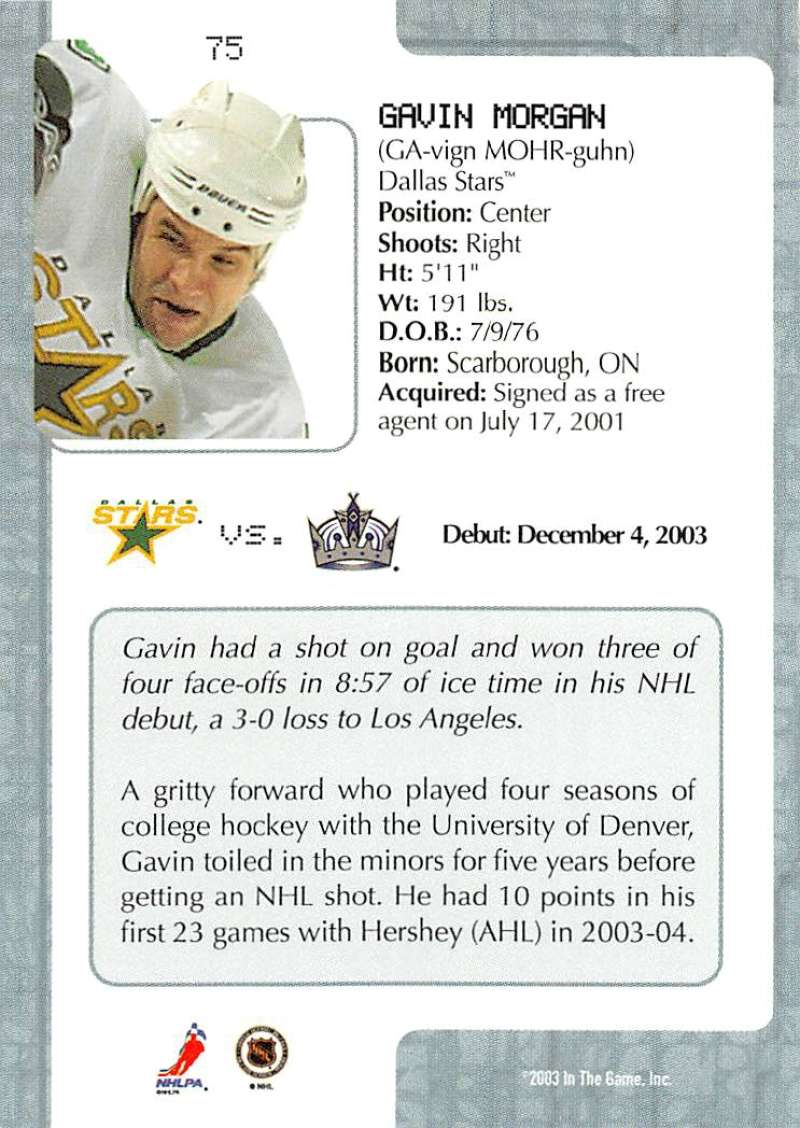 2003-04-In-The-Game-VIP-Rookie-Debut-Hockey-Cards-Pick-From-List thumbnail 135