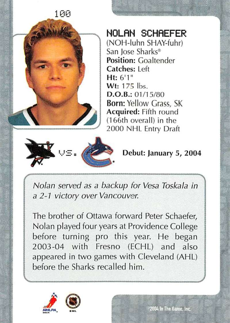 2003-04-In-The-Game-VIP-Rookie-Debut-Hockey-Cards-Pick-From-List thumbnail 183
