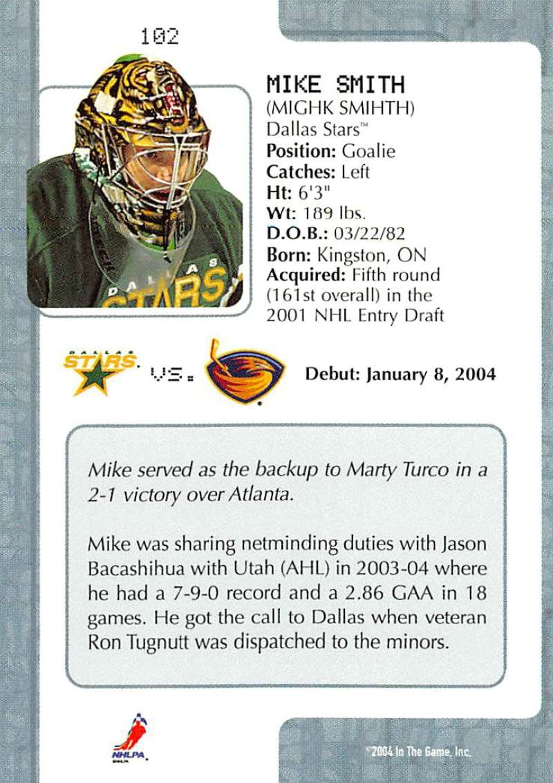 2003-04-In-The-Game-VIP-Rookie-Debut-Hockey-Cards-Pick-From-List thumbnail 185