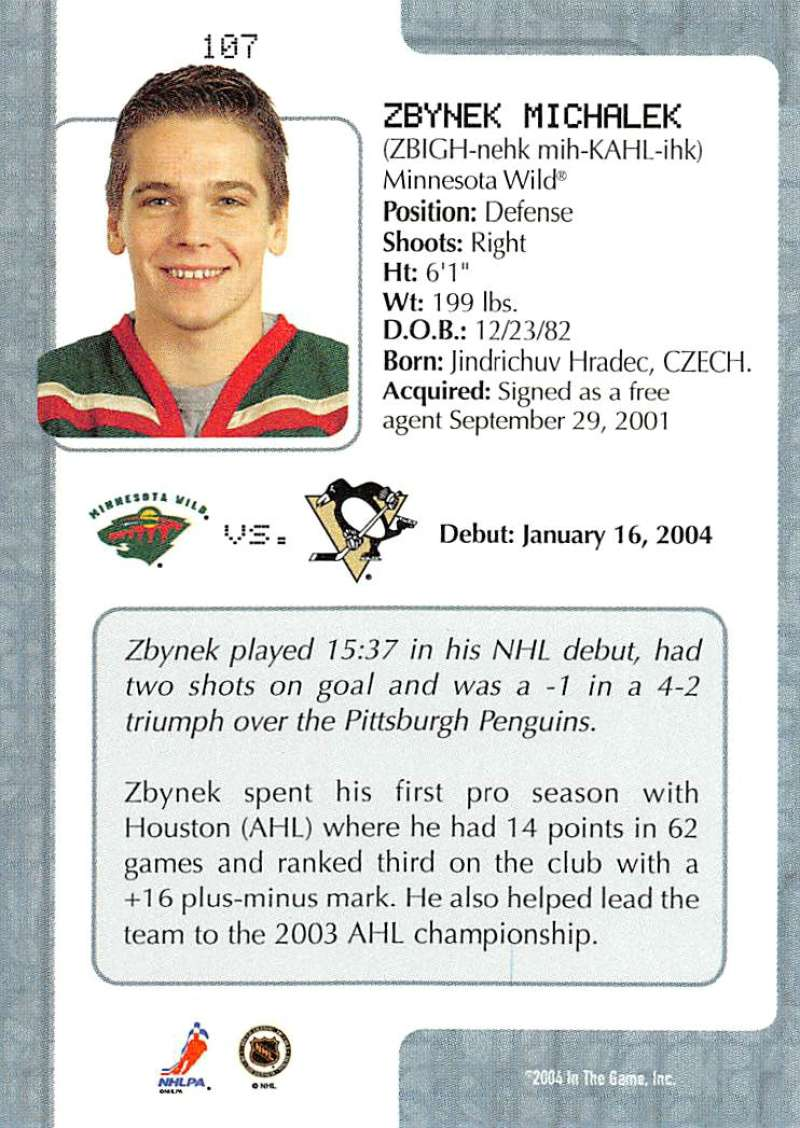 2003-04-In-The-Game-VIP-Rookie-Debut-Hockey-Cards-Pick-From-List thumbnail 195