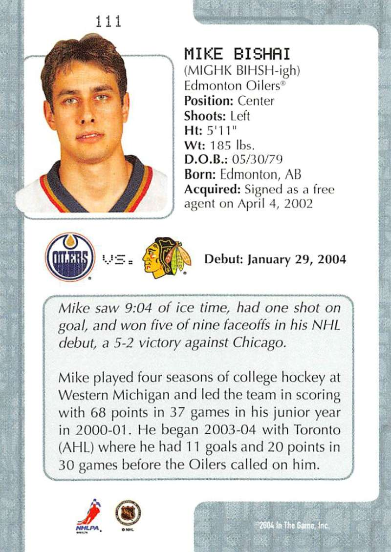 2003-04-In-The-Game-VIP-Rookie-Debut-Hockey-Cards-Pick-From-List thumbnail 203