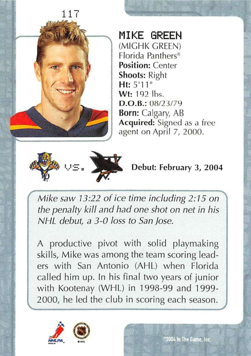 2003-04-In-The-Game-VIP-Rookie-Debut-Hockey-Cards-Pick-From-List thumbnail 213