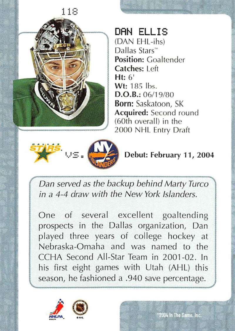 2003-04-In-The-Game-VIP-Rookie-Debut-Hockey-Cards-Pick-From-List thumbnail 215
