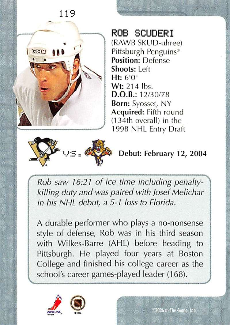 2003-04-In-The-Game-VIP-Rookie-Debut-Hockey-Cards-Pick-From-List thumbnail 217