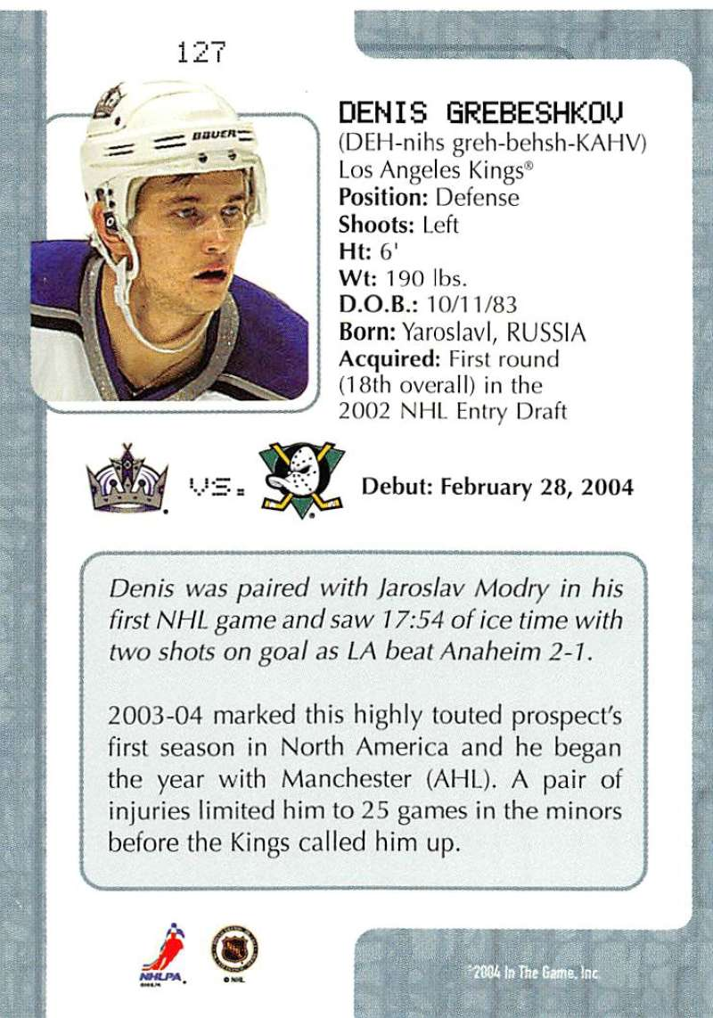 2003-04-In-The-Game-VIP-Rookie-Debut-Hockey-Cards-Pick-From-List thumbnail 233