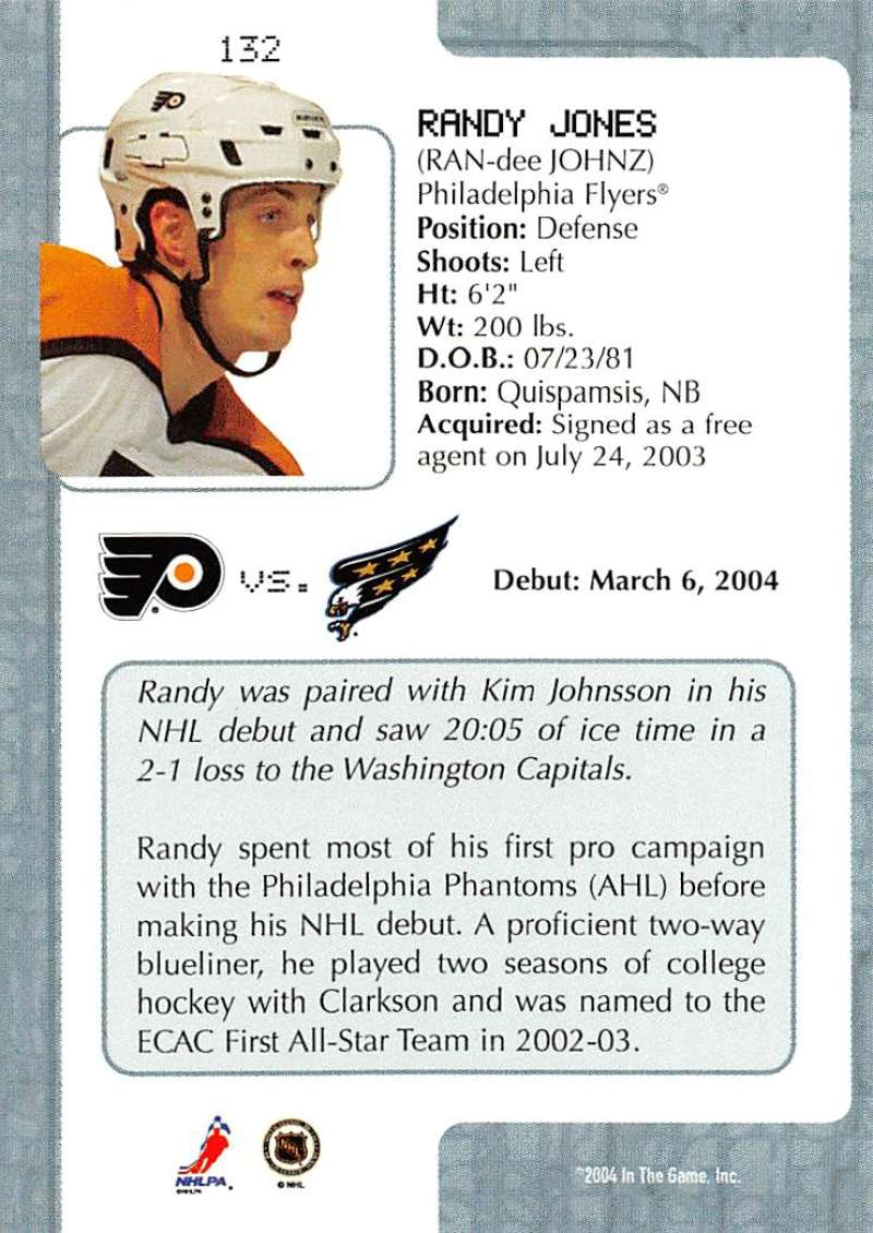 2003-04-In-The-Game-VIP-Rookie-Debut-Hockey-Cards-Pick-From-List thumbnail 241