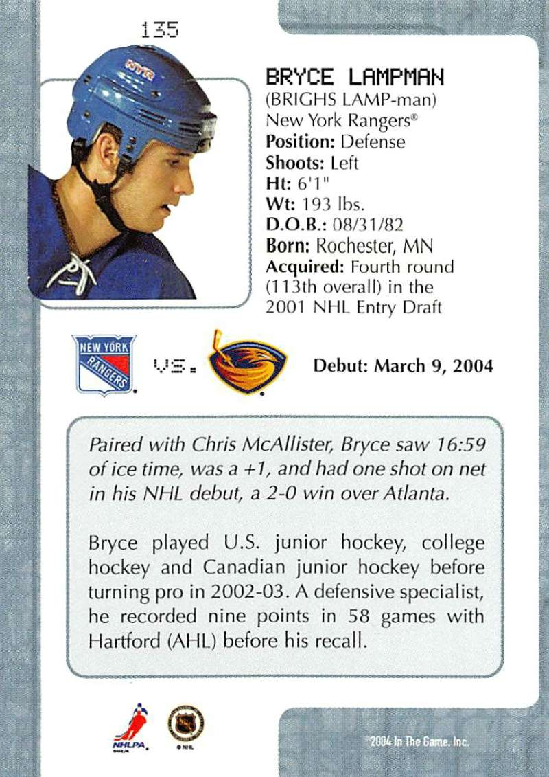 2003-04-In-The-Game-VIP-Rookie-Debut-Hockey-Cards-Pick-From-List thumbnail 247