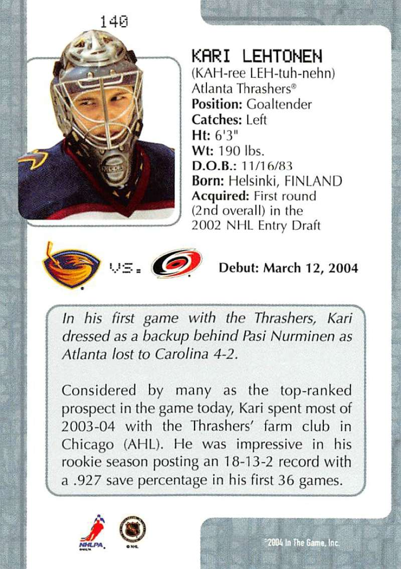 2003-04-In-The-Game-VIP-Rookie-Debut-Hockey-Cards-Pick-From-List thumbnail 257