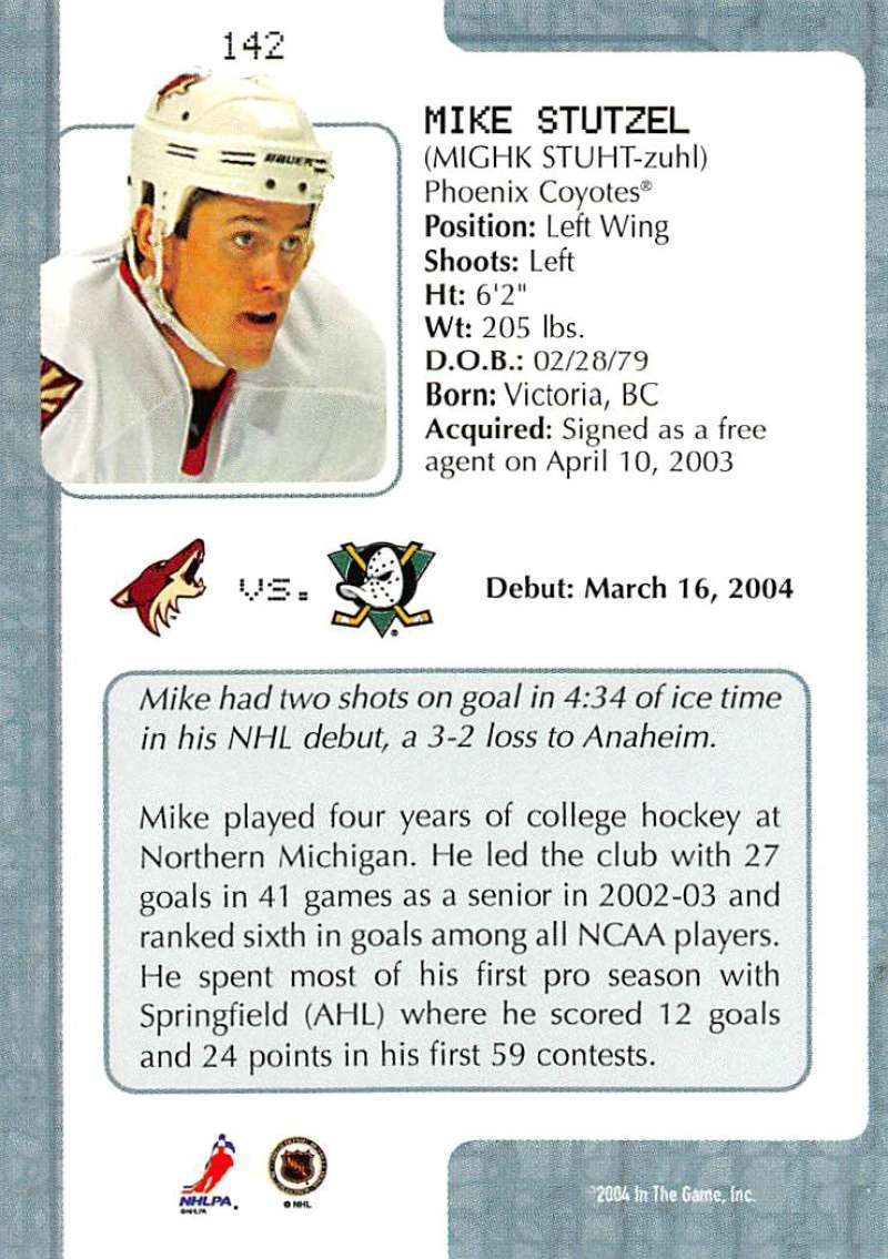 2003-04-In-The-Game-VIP-Rookie-Debut-Hockey-Cards-Pick-From-List thumbnail 261