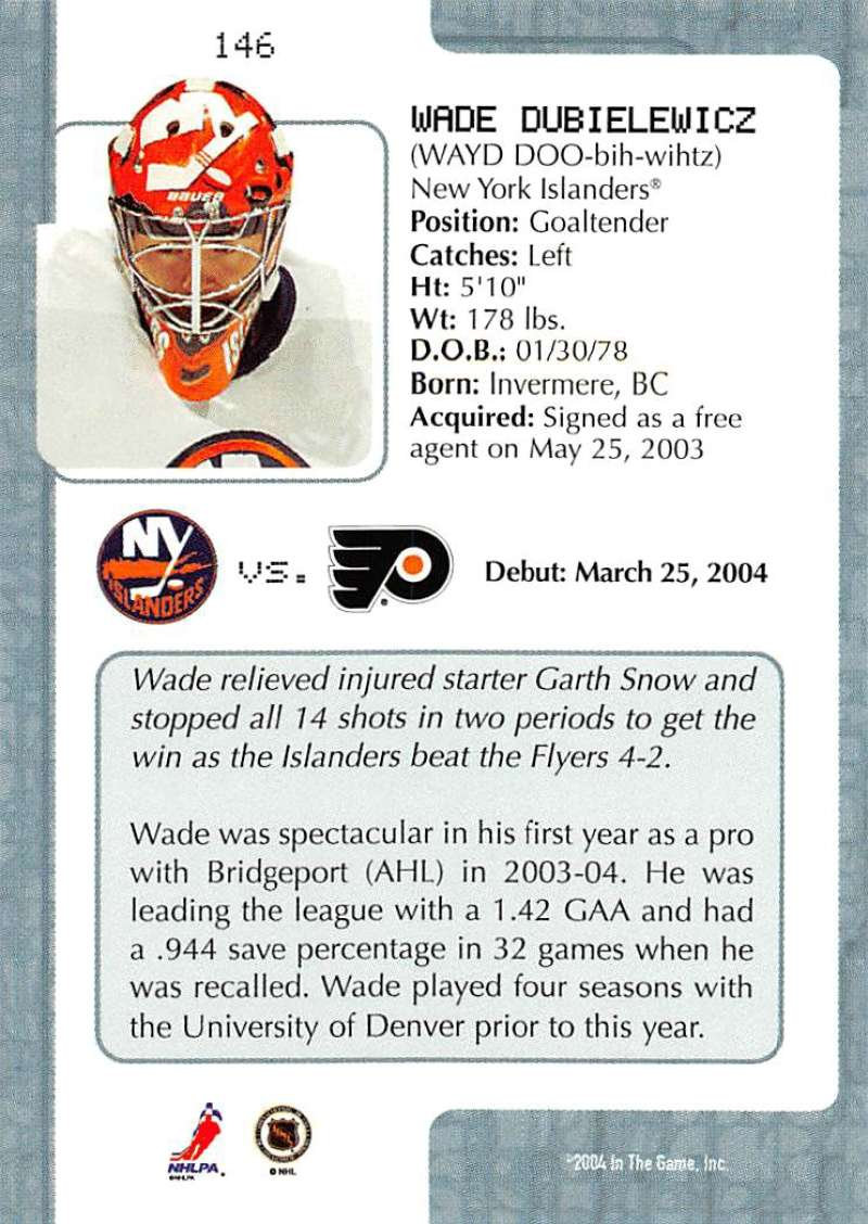 2003-04-In-The-Game-VIP-Rookie-Debut-Hockey-Cards-Pick-From-List thumbnail 267