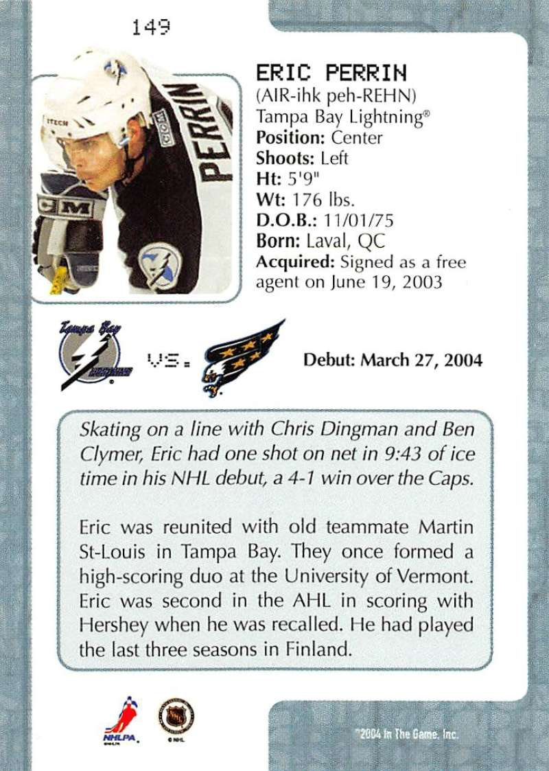 2003-04-In-The-Game-VIP-Rookie-Debut-Hockey-Cards-Pick-From-List thumbnail 273