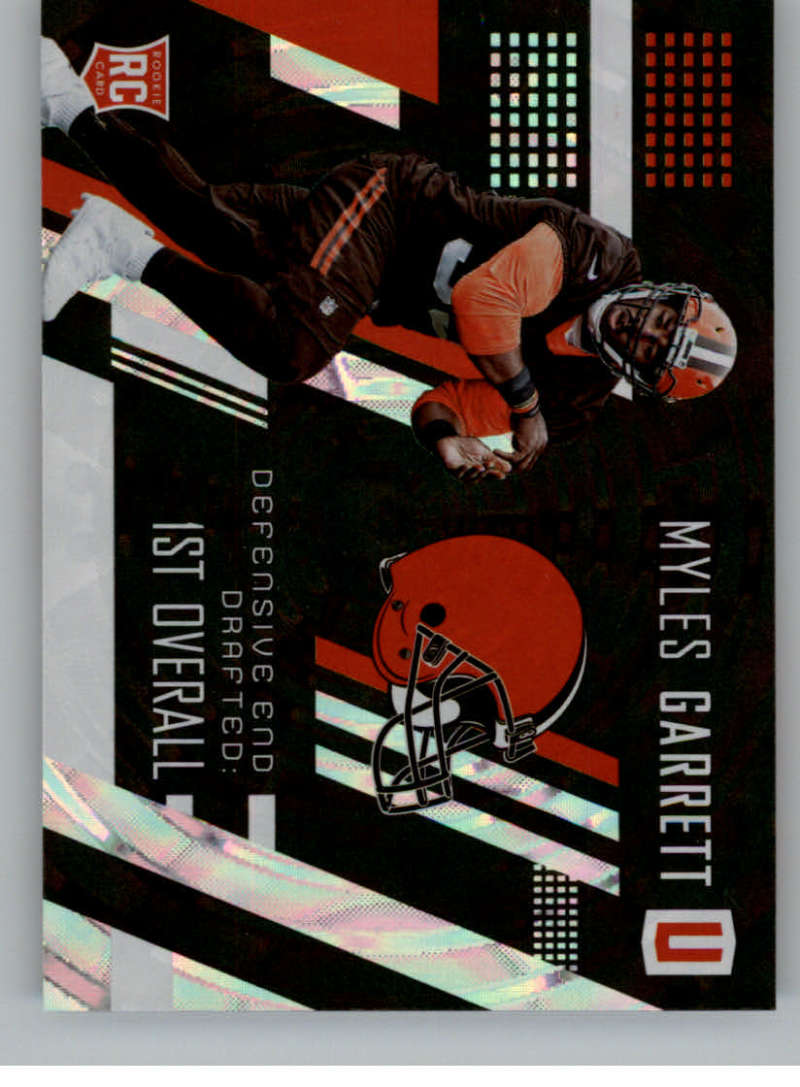 2017 Panini Unparalleled #237 Myles Garrett NM-MT RC Rookie