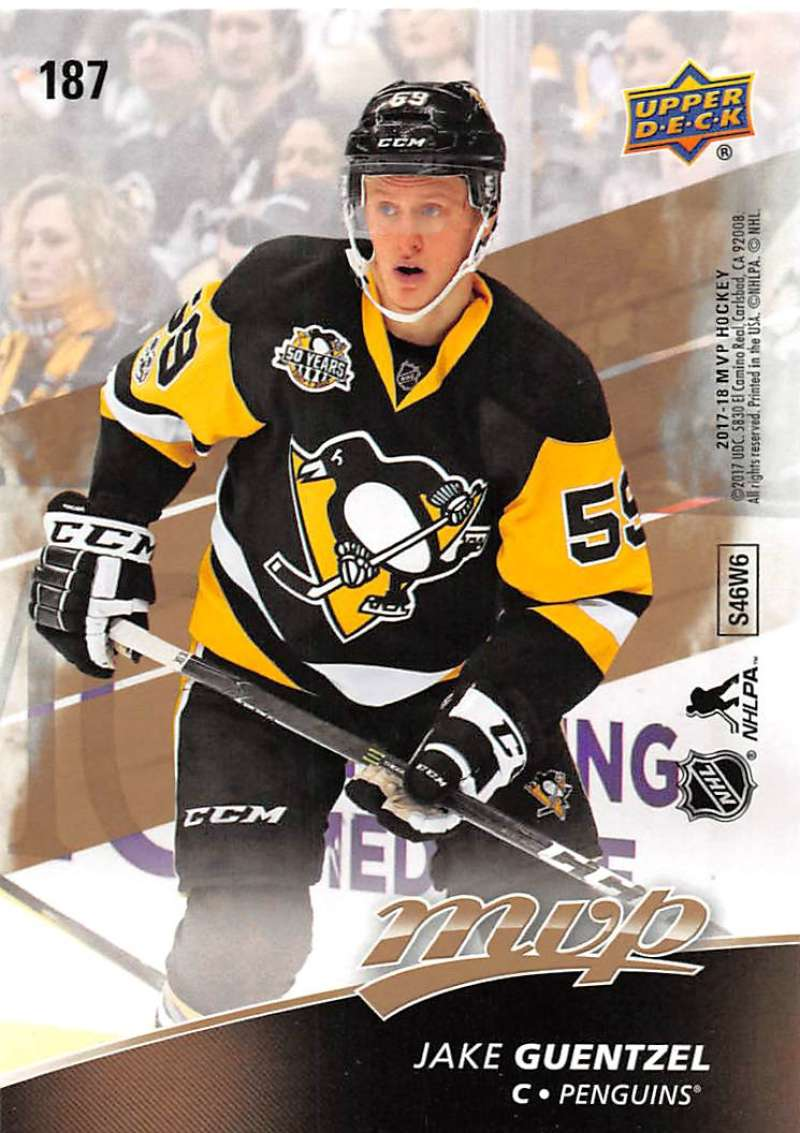 2017-18-Upper-Deck-MVP-Puzzle-Back-Hockey-Cards-Pick-From-List miniature 125