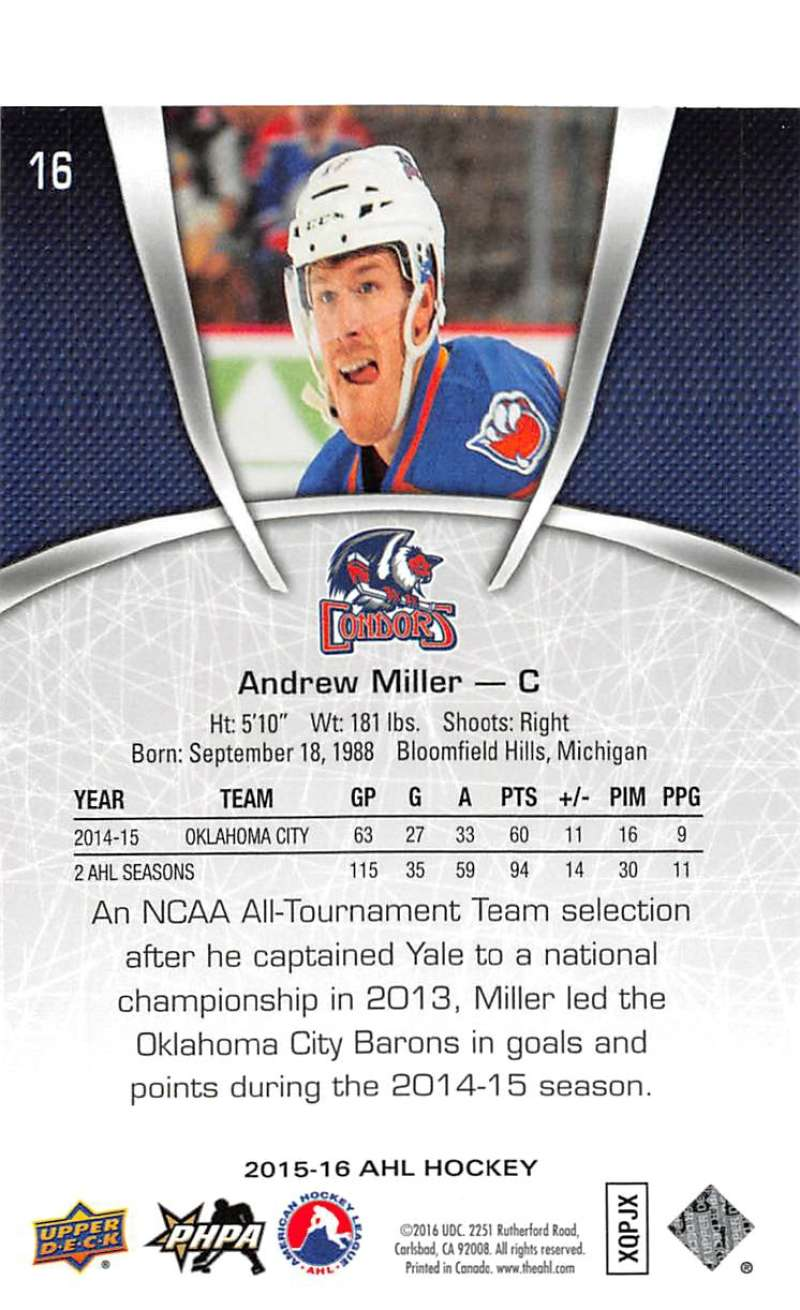 2015-16-Upper-Deck-AHL-Hockey-Cards-Pick-From-List-Includes-Short-Prints thumbnail 33