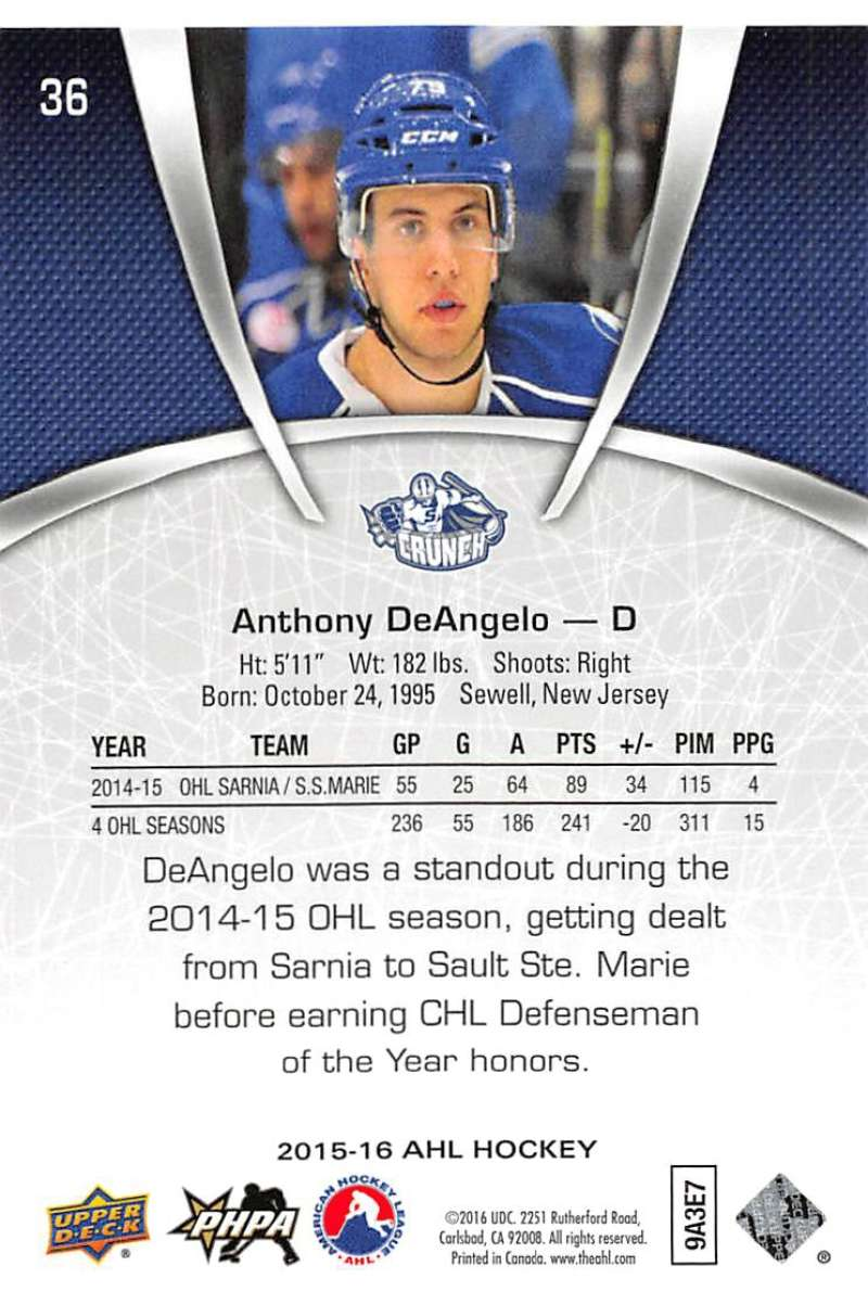 2015-16-Upper-Deck-AHL-Hockey-Cards-Pick-From-List-Includes-Short-Prints thumbnail 73