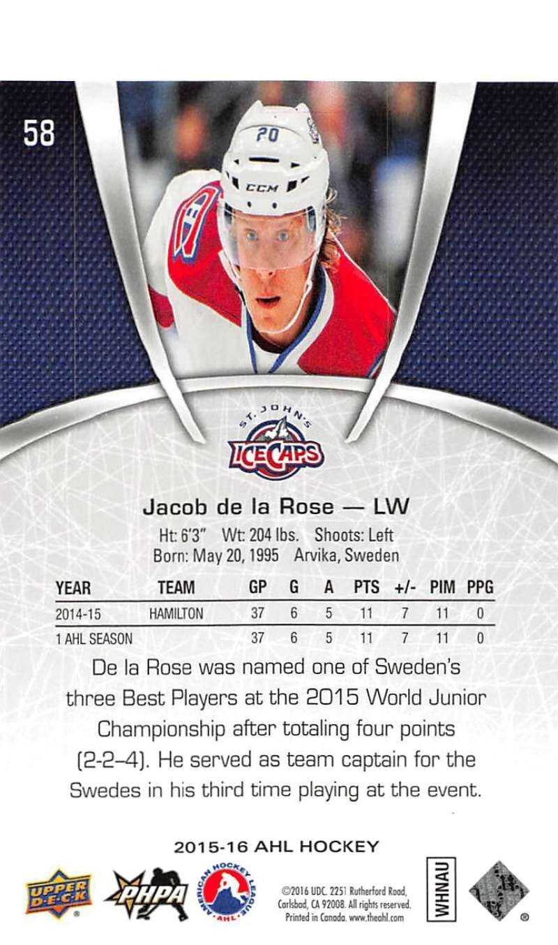 2015-16-Upper-Deck-AHL-Hockey-Cards-Pick-From-List-Includes-Short-Prints thumbnail 117
