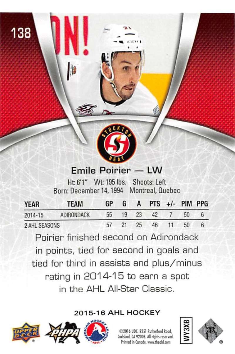 2015-16-Upper-Deck-AHL-Hockey-Cards-Pick-From-List-Includes-Short-Prints thumbnail 271