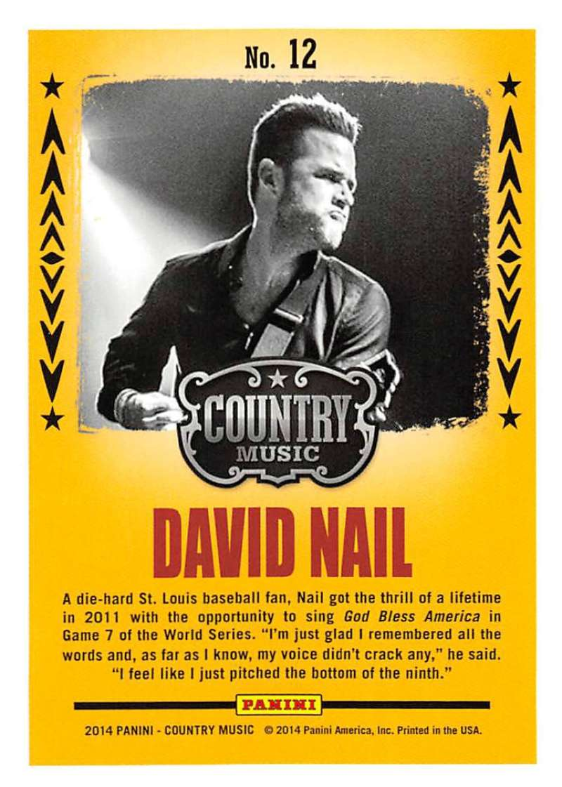 2014 Panini Country Music Backstage Pass Cards Pick From List Includes Parallels