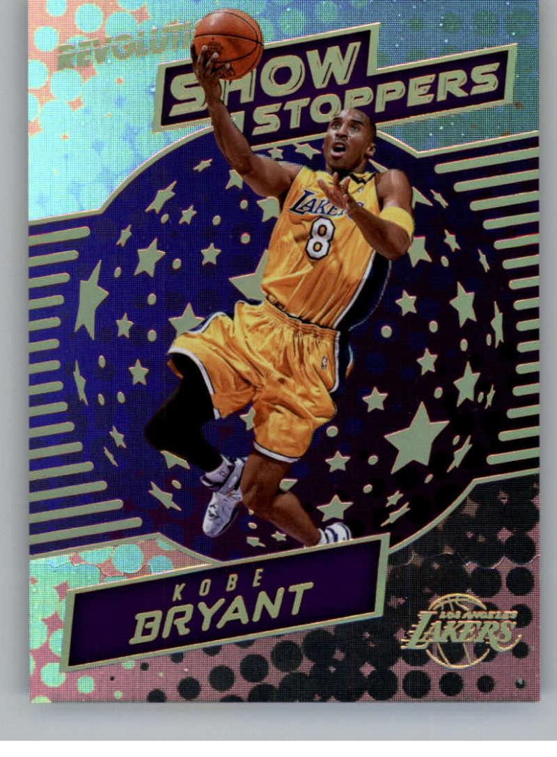 2017-18 Panini Revolution Showstoppers #10 Kobe Bryant Lakers