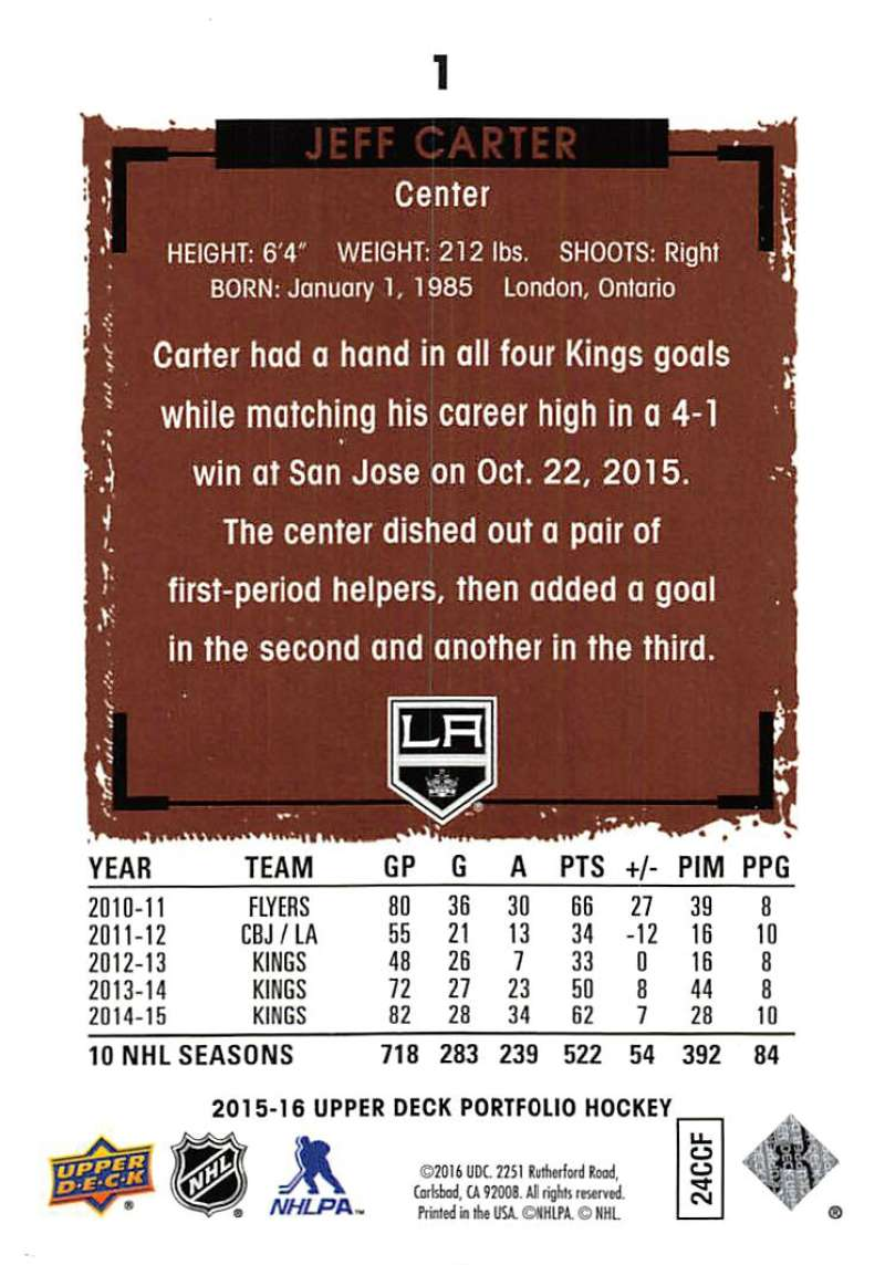 2015-16-Upper-Deck-Portfolio-Hockey-Cards-Pick-From-List-1-250-Includes-Rookies thumbnail 3