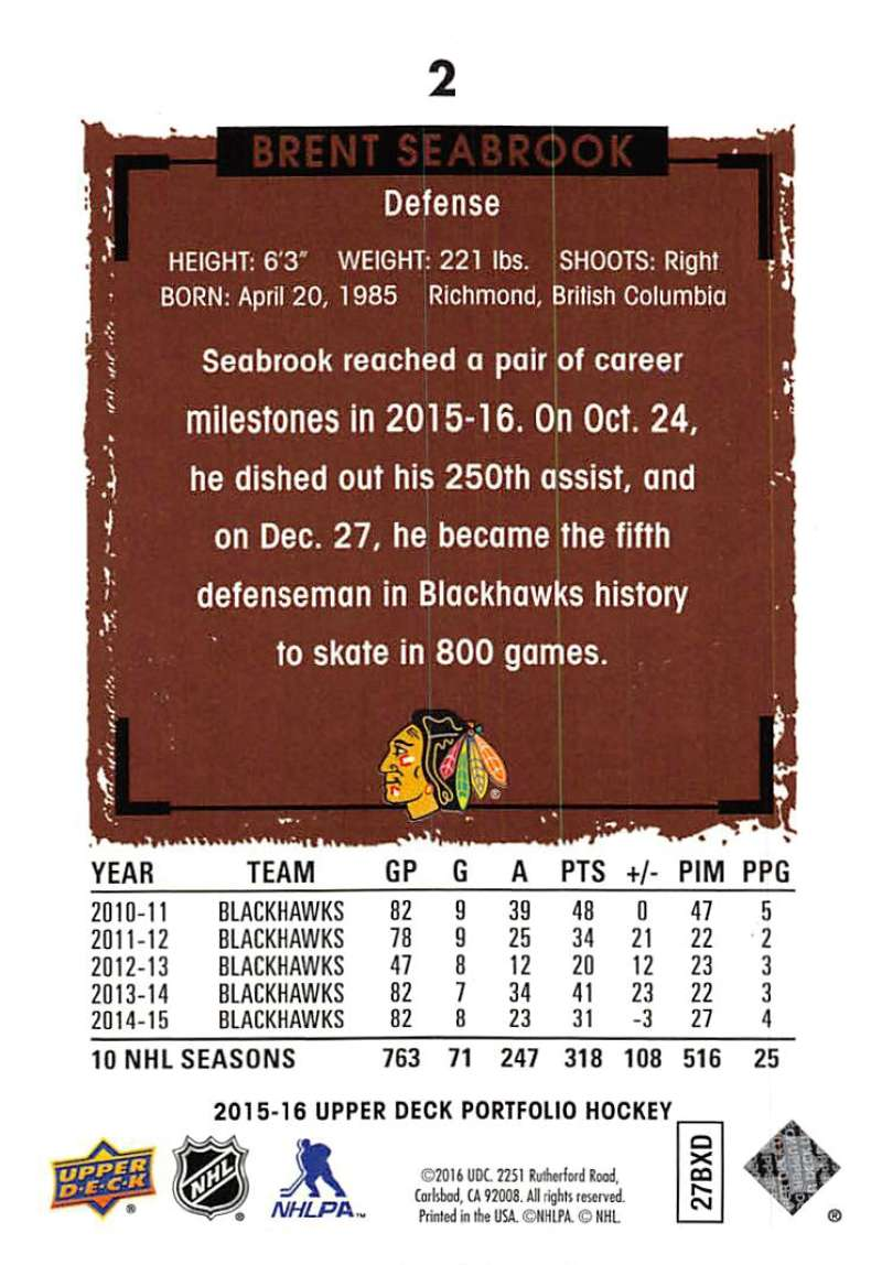 2015-16-Upper-Deck-Portfolio-Hockey-Cards-Pick-From-List-1-250-Includes-Rookies thumbnail 5