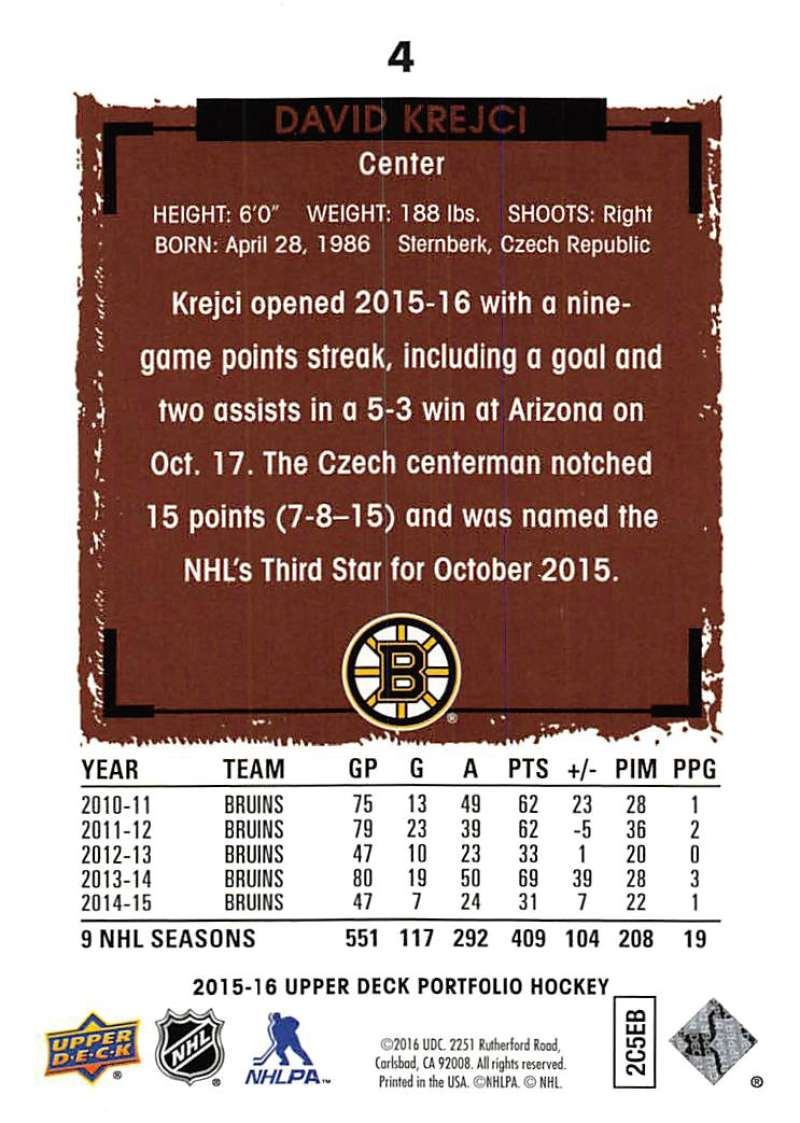 2015-16-Upper-Deck-Portfolio-Hockey-Cards-Pick-From-List-1-250-Includes-Rookies thumbnail 9