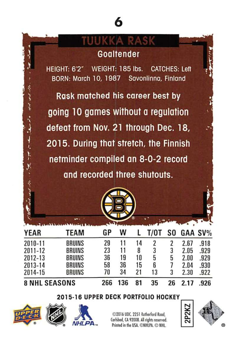 2015-16-Upper-Deck-Portfolio-Hockey-Cards-Pick-From-List-1-250-Includes-Rookies thumbnail 13