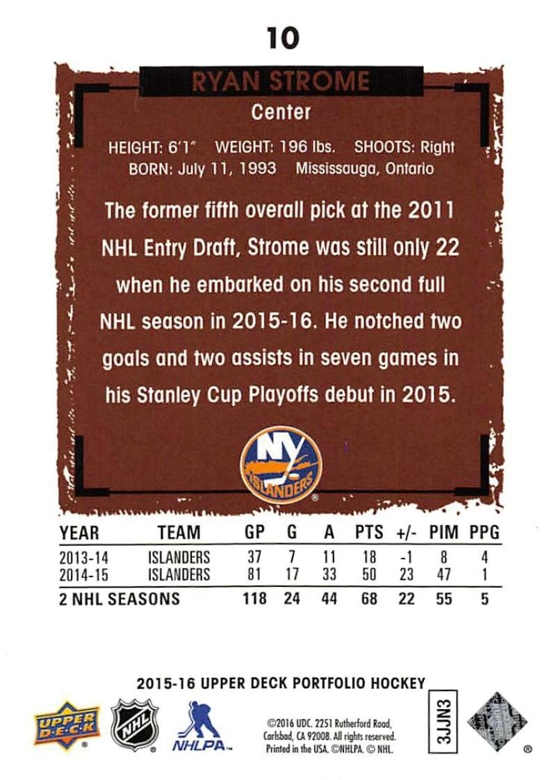2015-16-Upper-Deck-Portfolio-Hockey-Cards-Pick-From-List-1-250-Includes-Rookies thumbnail 21