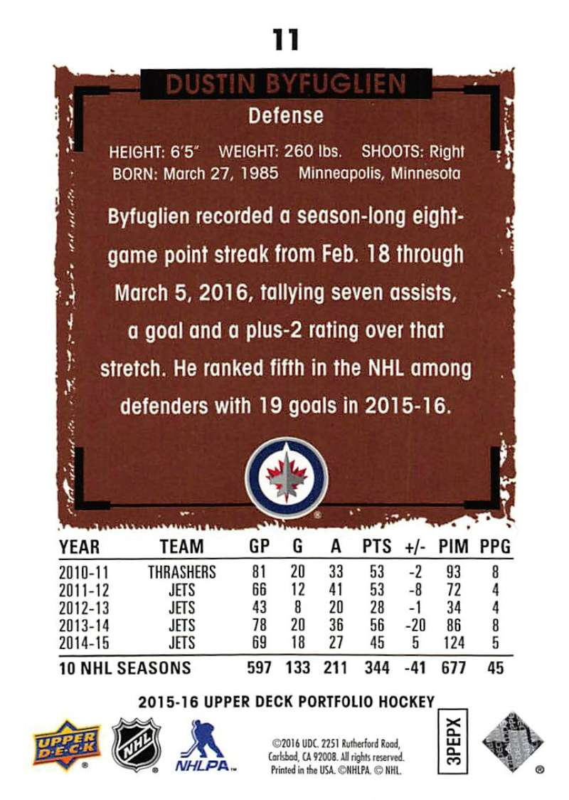 2015-16-Upper-Deck-Portfolio-Hockey-Cards-Pick-From-List-1-250-Includes-Rookies thumbnail 23