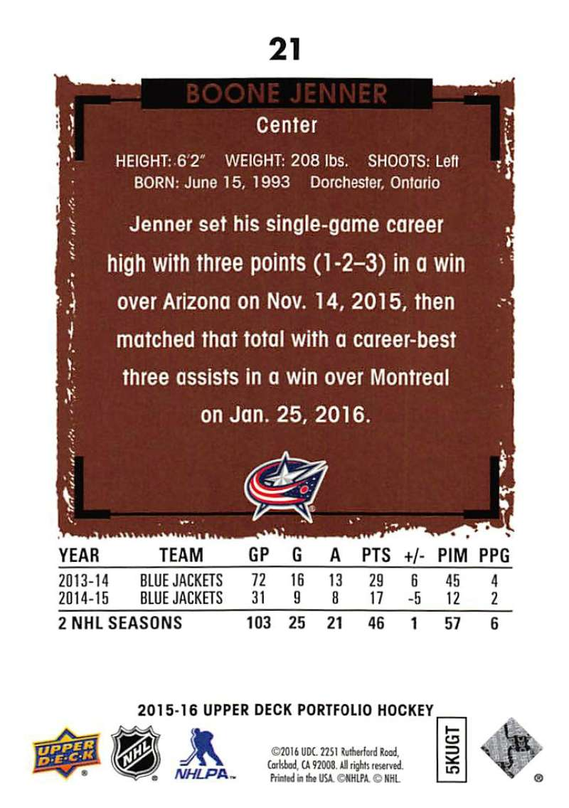 2015-16-Upper-Deck-Portfolio-Hockey-Cards-Pick-From-List-1-250-Includes-Rookies thumbnail 43