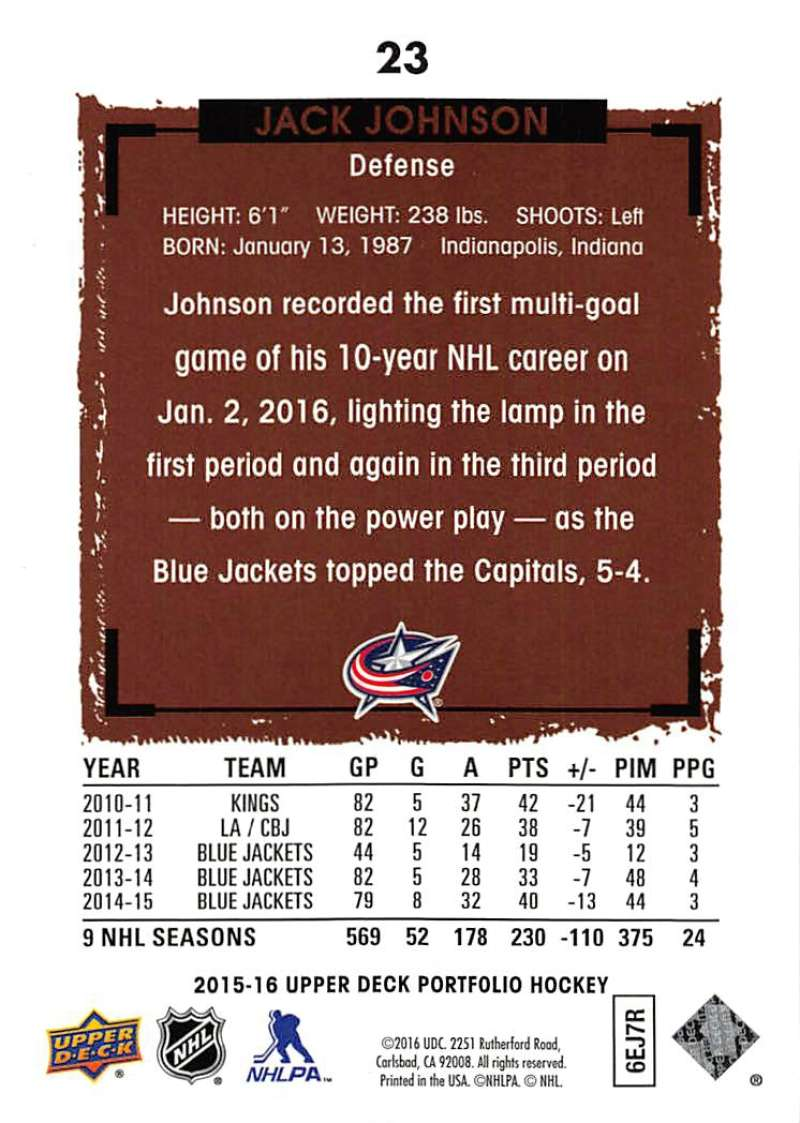 2015-16-Upper-Deck-Portfolio-Hockey-Cards-Pick-From-List-1-250-Includes-Rookies thumbnail 47