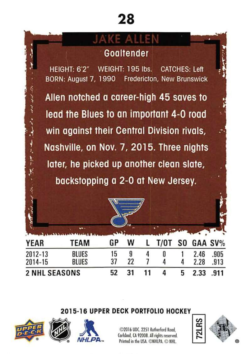 2015-16-Upper-Deck-Portfolio-Hockey-Cards-Pick-From-List-1-250-Includes-Rookies thumbnail 57