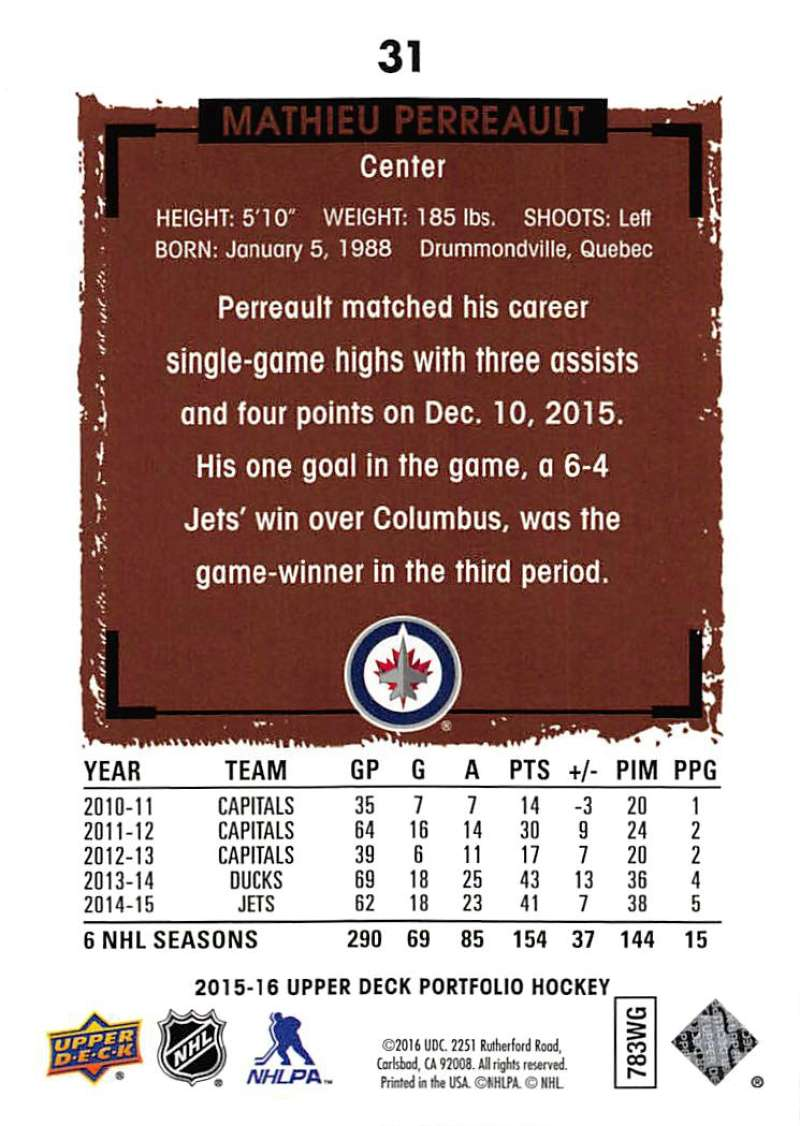 2015-16-Upper-Deck-Portfolio-Hockey-Cards-Pick-From-List-1-250-Includes-Rookies thumbnail 61